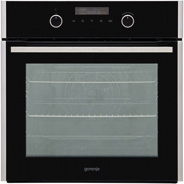 Gorenje BOP747A12XUK Built In Electric Single Oven - Black - A+ Rated
