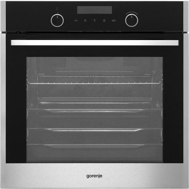 Gorenje BOP747S32X Built In Electric Single Oven - Stainless Steel - A Rated