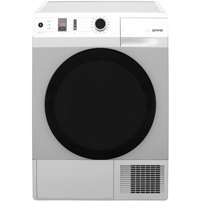 Gorenje Colour Collection Free Standing Condenser Tumble Dryer in Aluminium