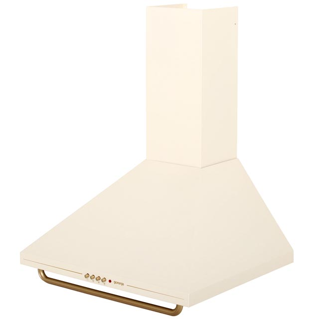 Gorenje Classico Collection DK63CLI 60 cm Chimney Cooker Hood - Ivory Cream - DK63CLI_IV - 5