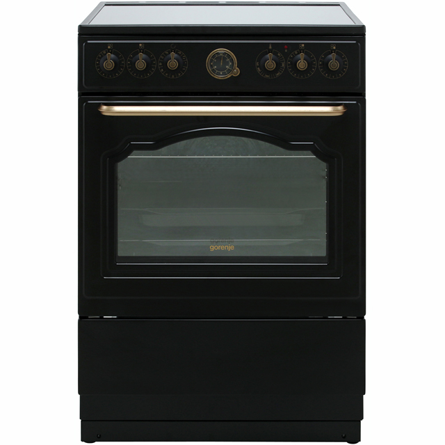 Gorenje Classico Collection Free Standing Cooker in Black