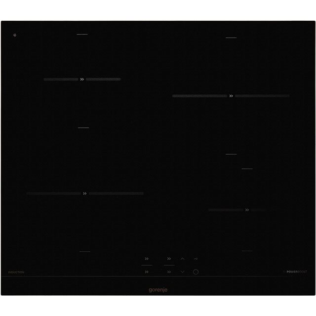 Gorenje IT640BCSC 60cm Induction Hob - Black - IT640BCSC_BK - 1