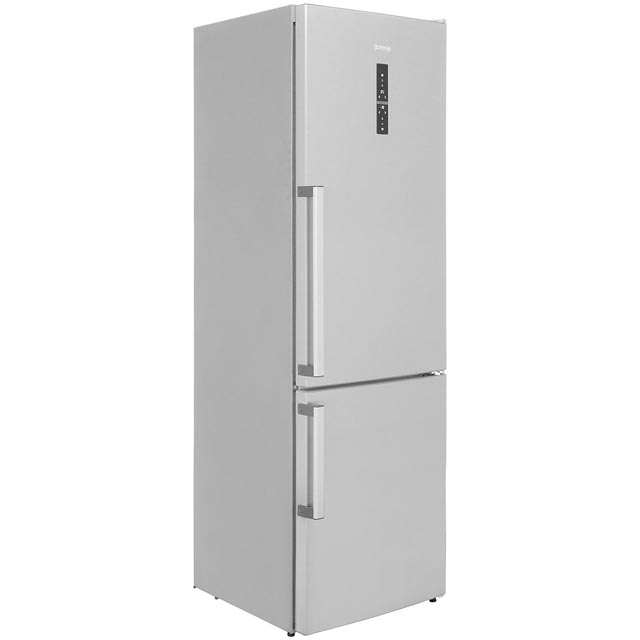 Gorenje NRK6193TXUK 60/40 Frost Free Fridge Freezer - Stainless Steel - A+++ Rated - NRK6193TXUK_SS - 1
