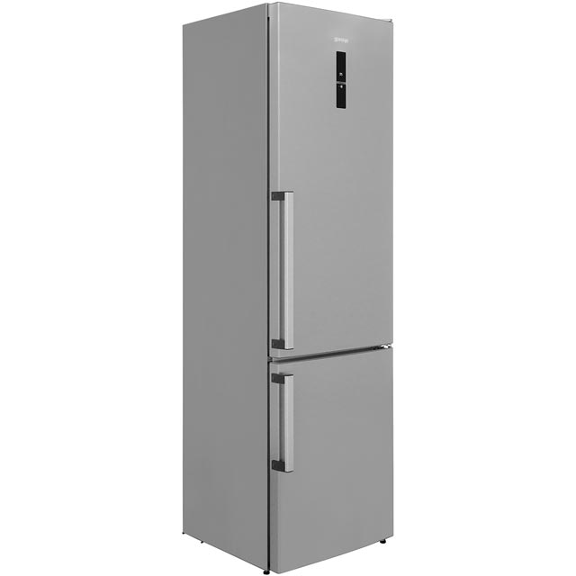 Gorenje NRK6203TXUK 70/30 Frost Free Fridge Freezer - Stainless Steel - A+++ Rated - NRK6203TXUK_SS - 1