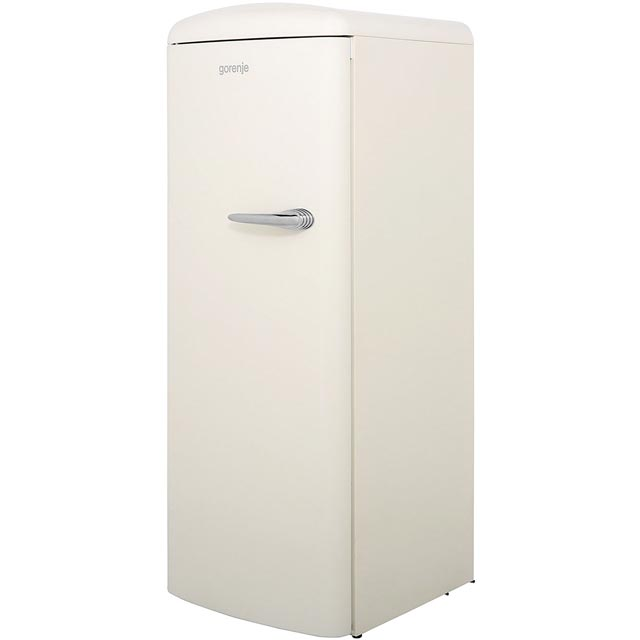 Gorenje Retro Collection ORB153C-L Fridge with Ice Box - Cream - A+++ Rated - ORB153C-L_CR - 1
