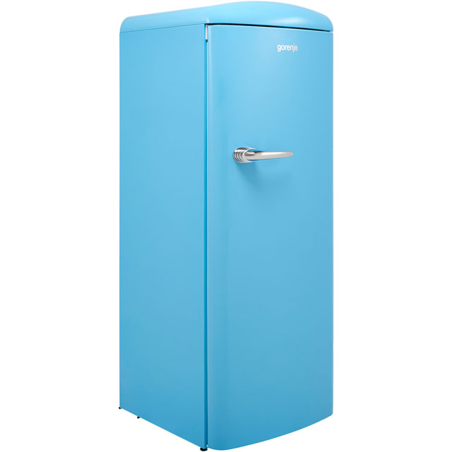 Gorenje Retro Collection RBO6153BL Fridge with Ice Box - Blue - A+++ Rated - RBO6153BL_BL - 1