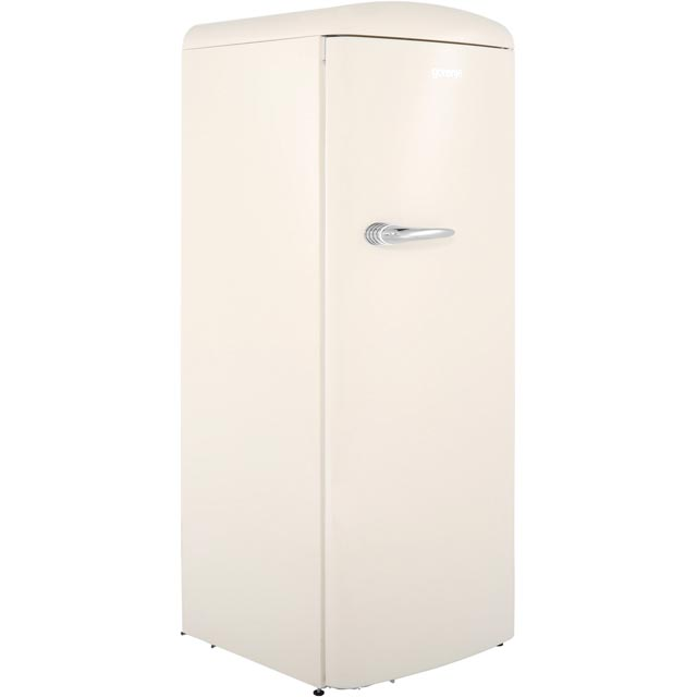 Gorenje Retro Collection RBO6153C Fridge with Ice Box - Cream - A+++ Rated