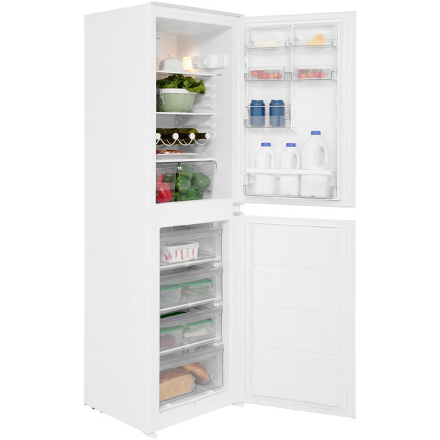 Gorenje Essential Line RKI4181AWV Integrated 50/50 Fridge Freezer with Sliding Door Fixing Kit - White - A+ Rated