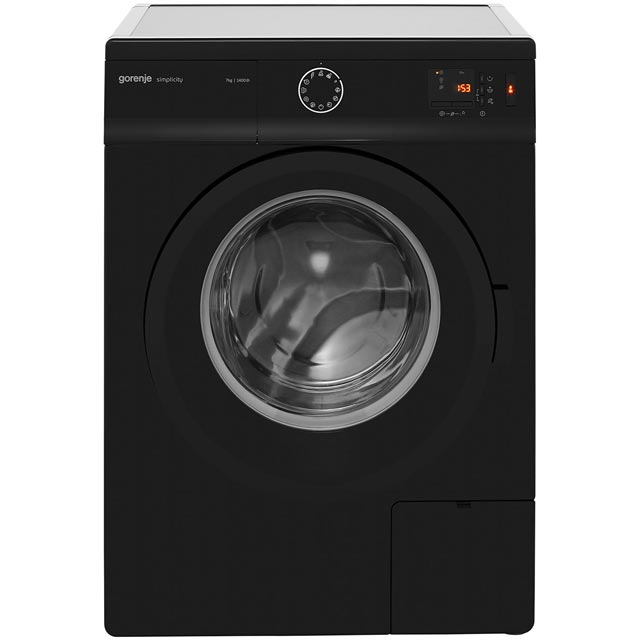 Gorenje Simplicity Collection WA74SY2B 7Kg Washing Machine with 1400 rpm - Black