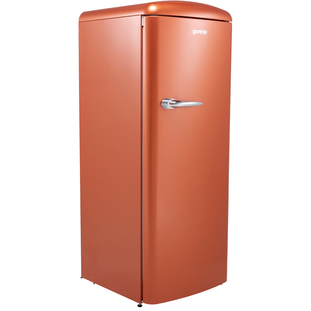 Gorenje Retro Collection ORB153CR Fridge with Ice Box - Copper - A+++ Rated - ORB153CR_CP - 1