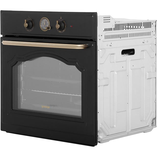 Gorenje Classico Collection BO73CLIUK Built In Electric Single Oven - Ivory Cream - BO73CLIUK_IV - 4