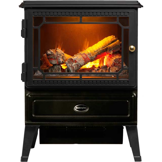 Dimplex Gosford Log Effect Electric Stove With Remote Control - Black