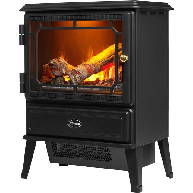 Dimplex Gosford GOS20 Log Effect Electric Stove With Remote Control - Black - GOS20_BK - 1