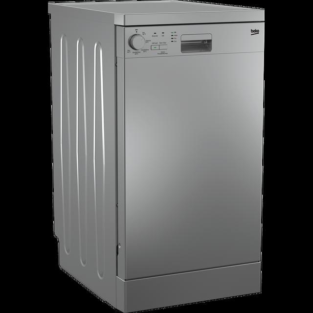 Beko DFS05020S Slimline Dishwasher - Silver - E Rated