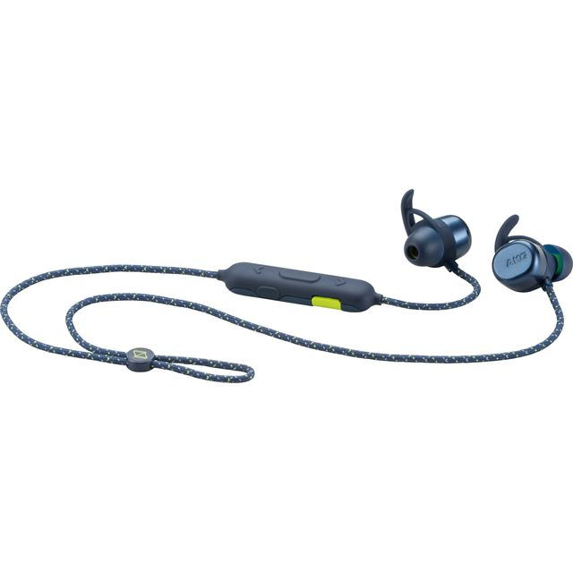 Image of AKG N200A In-Ear Water Resistant Wireless Bluetooth Sports Headphones - Blue