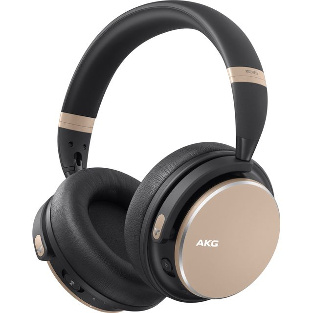 Image of AKG Y600NC Over-Ear Wireless Bluetooth Headphones - Gold