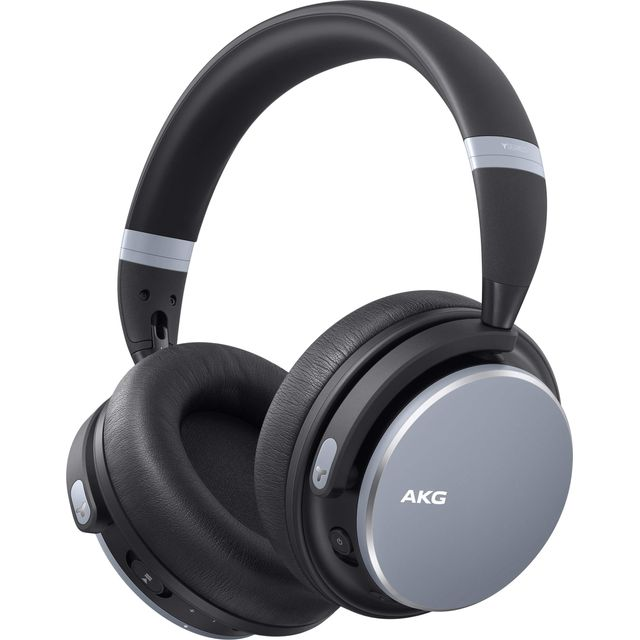 AKG Y600NC Over-Ear Wireless Bluetooth Headphones - Silver