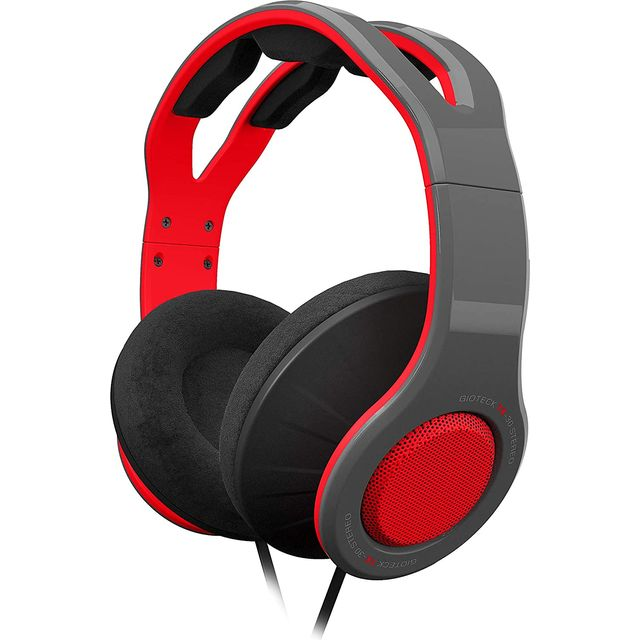 Image of Gioteck TX30 Gaming MegaPack for Nintendo Switch - Black / Red