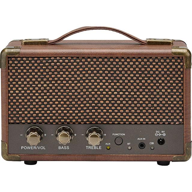 GPO Westwood Mini Wireless Speaker in Brown