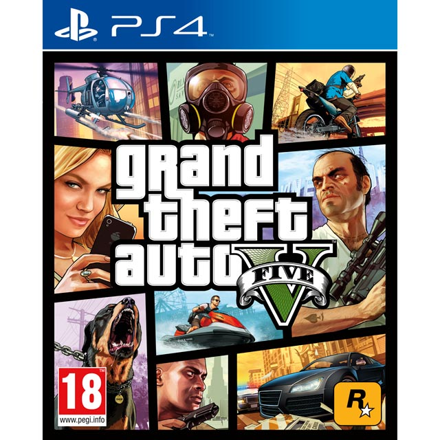 Grand Theft Auto V for PlayStation 4 - 5026555416986 - 1