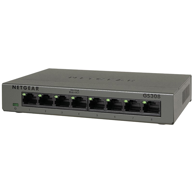 Netgear GS308 Ethernet Switch - GS308-100UKS - 1