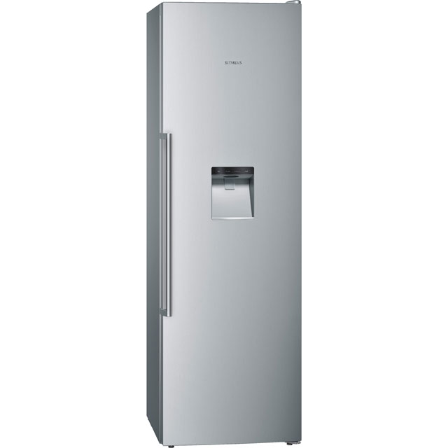 Siemens IQ-500 GS36DBI2VG Frost Free Upright Freezer - Stainless Steel Effect - A+ Rated