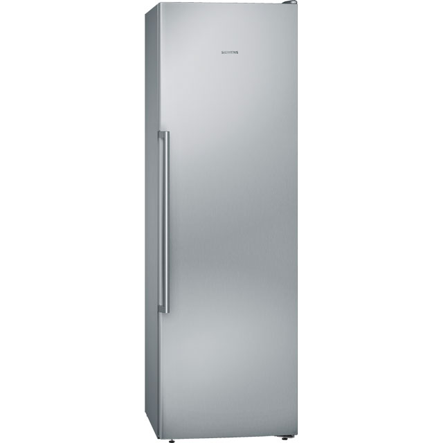 Siemens IQ-500 GS36NAI3P Frost Free Upright Freezer - Stainless Steel Effect - A++ Rated - GS36NAI3P_SSL - 1