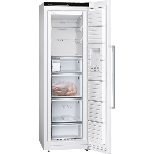 Siemens IQ-500 GS36NAW3P Upright Freezer - White - GS36NAW3P_WH - 3
