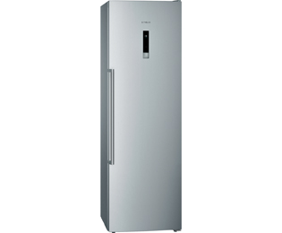 Siemens GS36NBI30 Frost Free Upright Freezer - Stainless Steel Effect - A++ Rated - GS36NBI30_IX - 1