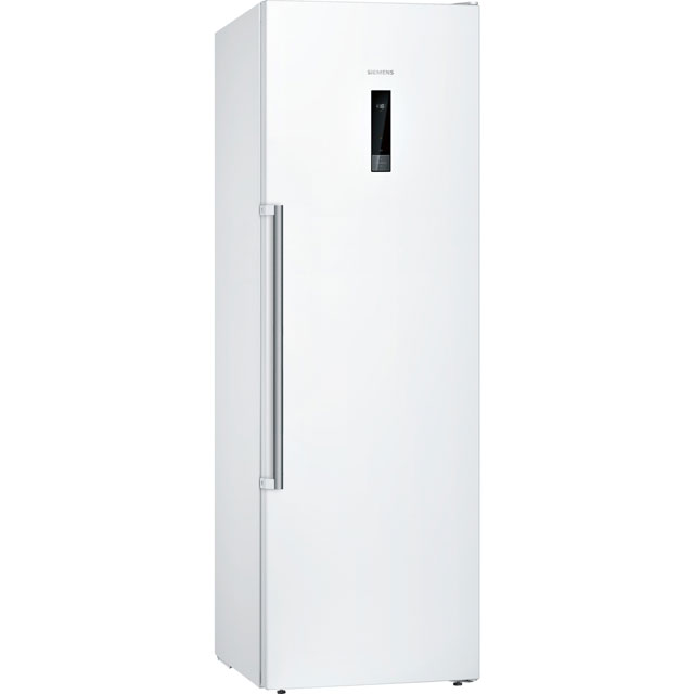 Siemens IQ-500 GS36NBW3PG Frost Free Upright Freezer - White - A++ Rated