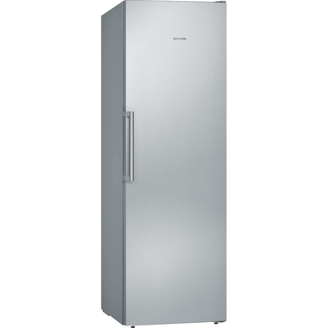 Siemens IQ-300 GS36NVI3V Upright Freezer - Stainless Steel Effect - GS36NVI3V_SSL - 1