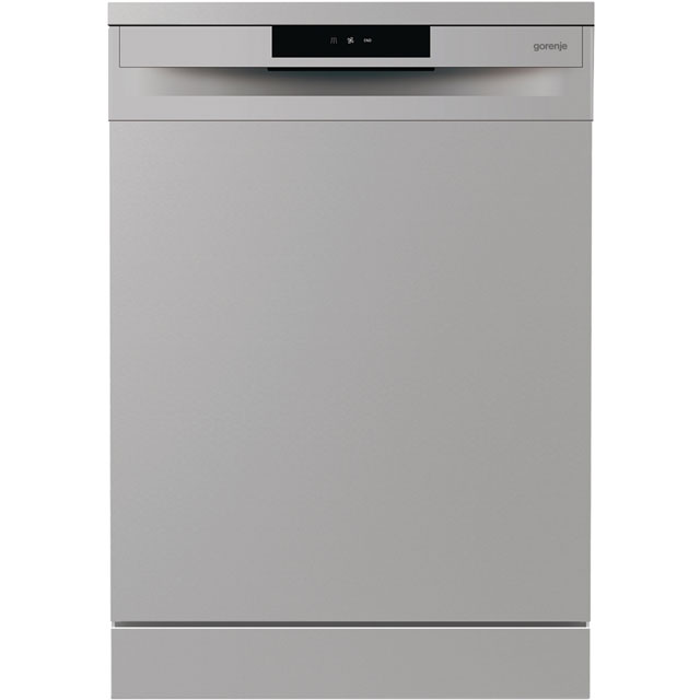 Gorenje Essential Line GS62010SUK Standard Dishwasher - Silver - A++ Rated - GS62010SUK_SI - 1