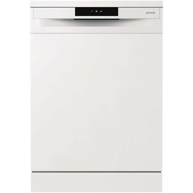 Gorenje Essential Line GS62010WUK Standard Dishwasher - White Best Price, Cheapest Prices