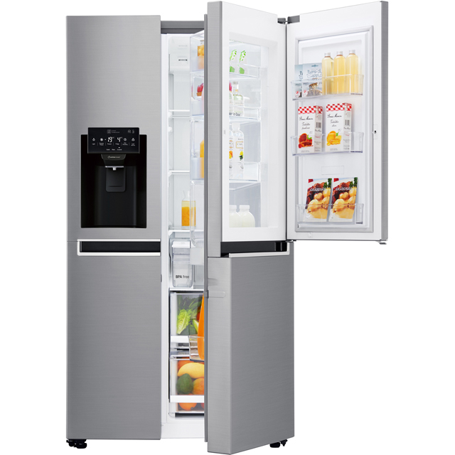 LG Door-in-Door™ American Fridge Freezer - Stainless Steel - A+ Rated