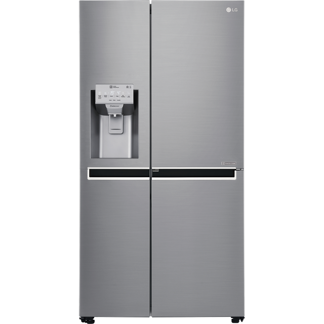 LG Door-in-Door™ GSJ961PZVV American Fridge Freezer - Steel - GSJ961PZVV_ST - 1