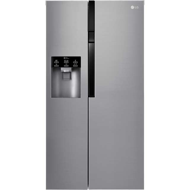 LG GSL560PZXV American Fridge Freezer - Stainless Steel