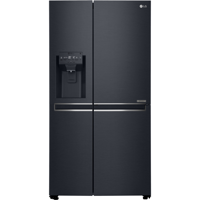 LG GSL760MCXV American Fridge Freezer - Matte Black - A+ Rated Best Price, Cheapest Prices