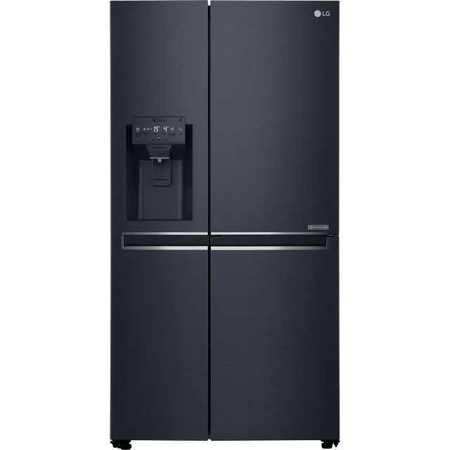 LG GSL761MCXV American Fridge Freezer - Matte Black - A+ Rated - GSL761MCXV_MBK - 1