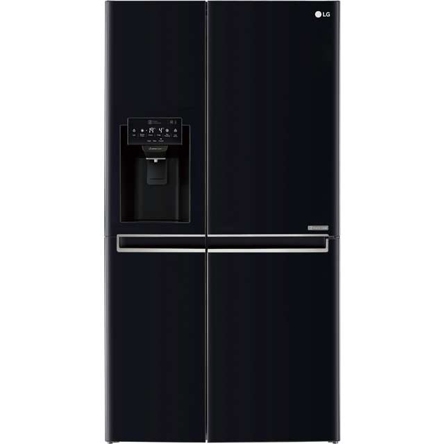 LG American Fridge Freezer - Black - A+ Rated