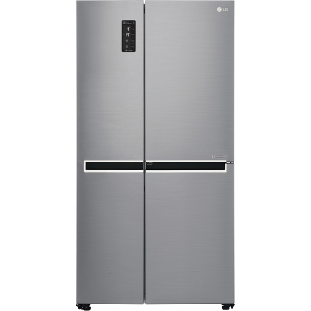 LG Door-in-Door™ GSM760PZXZ American Fridge Freezer - Stainless Steel
