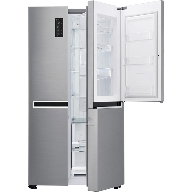 LG Door-in-Door™ GSM760PZXZ American Fridge Freezer - Stainless Steel - A++ Rated - GSM760PZXZ_SS - 1