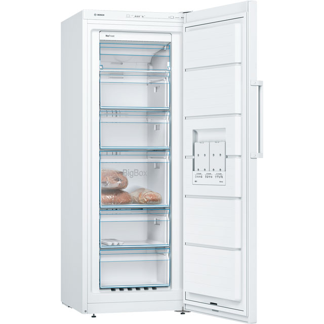 Bosch Serie 4 GSN29VW3VG Frost Free Upright Freezer - White - A++ Rated