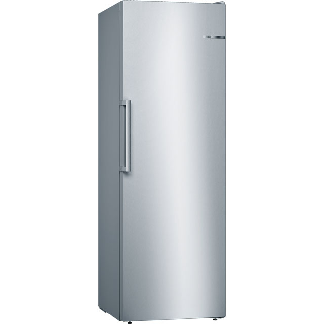 Bosch Serie 4 GSN33VL3P Frost Free Upright Freezer - Silver - A++ Rated