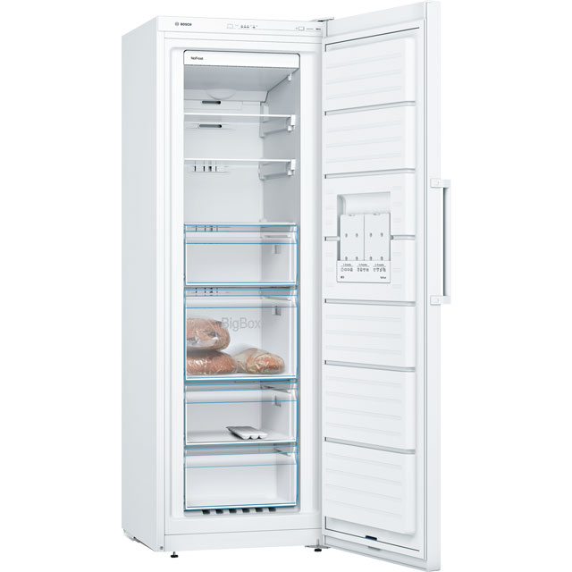 Bosch Serie 4 GSN33VW3PG Frost Free Upright Freezer - White - A++ Rated