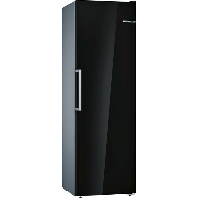 Bosch Serie 4 Frost Free Upright Freezer - Black - A++ Rated