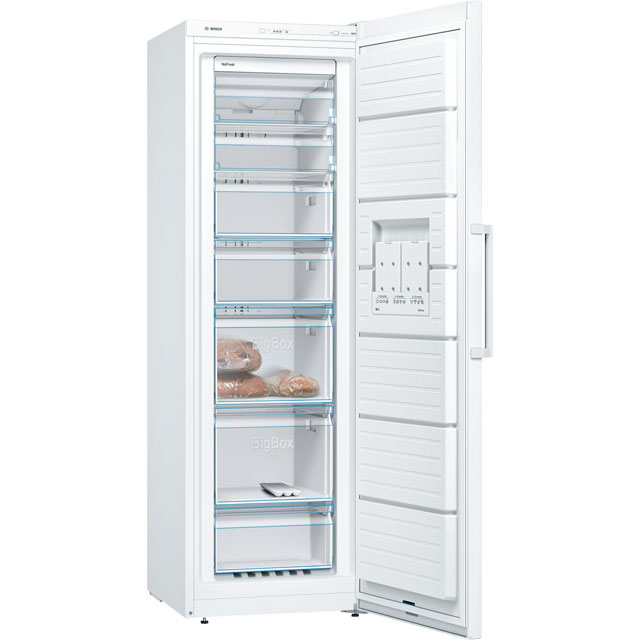 Bosch Serie 4 GSN36VW3VG Upright Freezer - White - GSN36VW3VG_WH - 2
