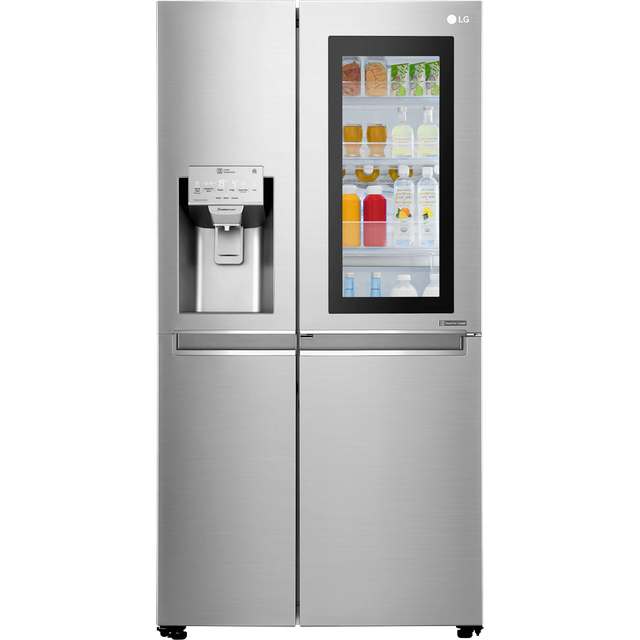 LG InstaView™ Door-in-Door™ GSX960NSVZ American Fridge Freezer - Stainless Steel - A++ Rated