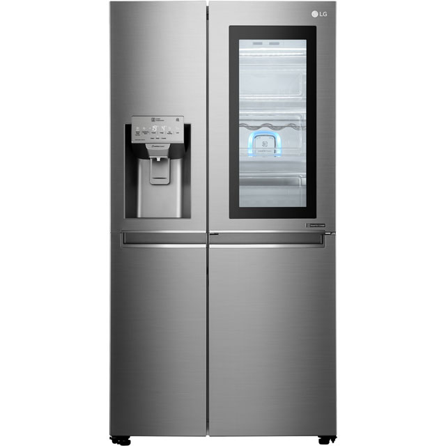 LG InstaView™ Door-in-Door™ American Fridge Freezer - Stainless Steel - A++ Rated