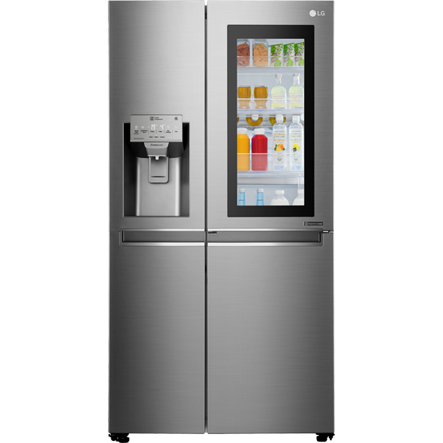 LG InstaView™ Door-in-Door™ GSX961NSVZ American Fridge Freezer - Stainless Steel - A++ Rated Best Price, Cheapest Prices