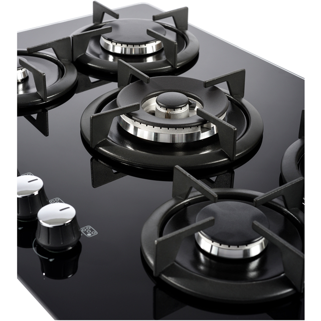 Belling GTG75C Built In Gas Hob - Black - GTG75C_BK - 4